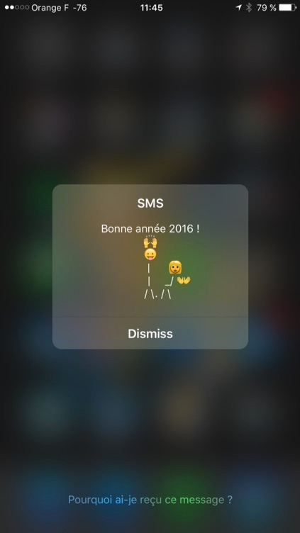 Les Flash Sms Changent De Look Dans Ios 9 2 Igeneration