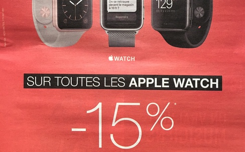 Fnac : 15 % de réduction sur toutes les AppleWatch