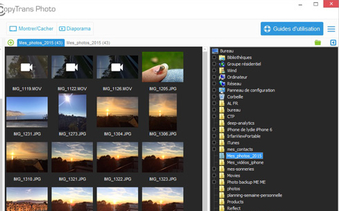 Windows: CopyTrans Photo 4 transfère aussi les vidéos sur iPhone