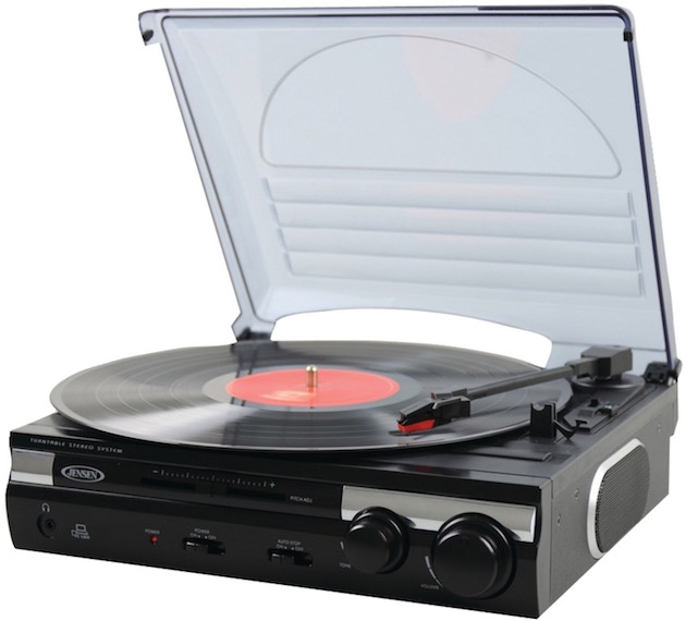 how to play record player through computer