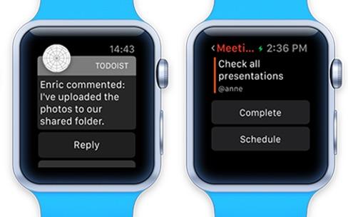 Apple Watch : un gestionnaire de tâches au poignet
