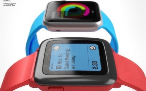 Apple Watch ou Pebble Time, laquelle est la plus belle?