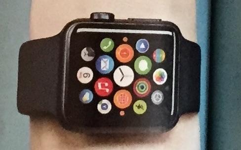 L'Apple Watch dans un magazine anglais