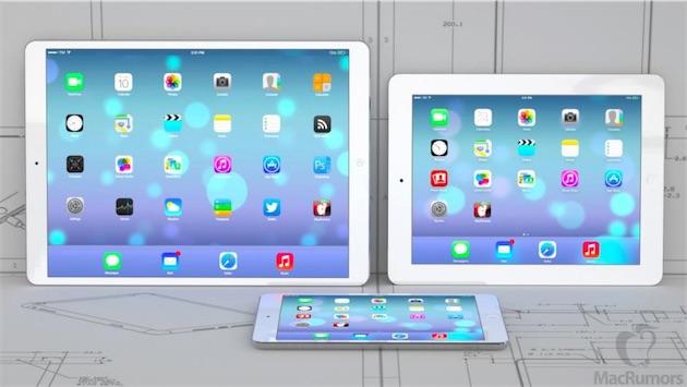 L'iPad Pro aurait également un écran de 12 pouces