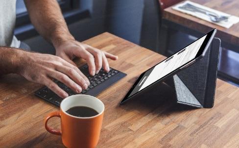 VersaKeyboard: une coque et un clavier pour iPad Air 2