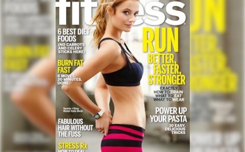 L'Apple Watch fait la couverture d'un magazine de fitness