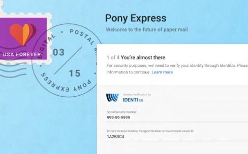 Google : un Pony Express pour payer ses factures