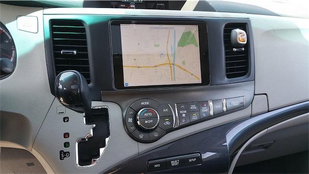 Installer ipad dans voiture