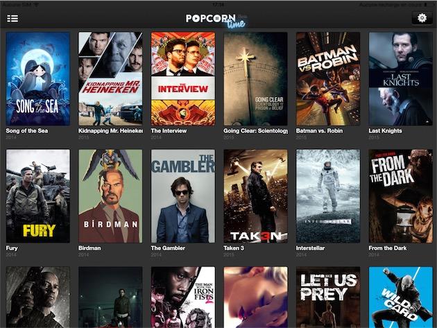 Popcorn Time fait son retour sur iOS par la petite porte