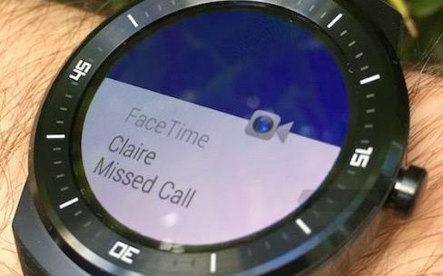 Les montres Android Wear se rapprochent un peu plus de l'iPhone