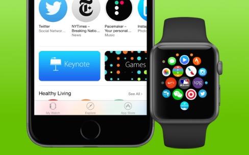 Apple Watch: l'App Store est ouvert, le guide utilisateur et une mise à jour aussi en ligne