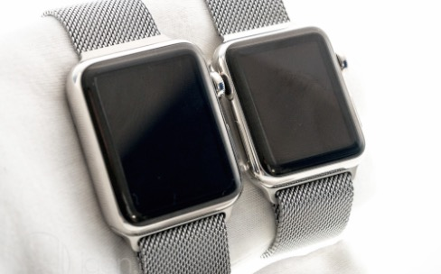 Apple Watch : quelques photos au sortir du carton