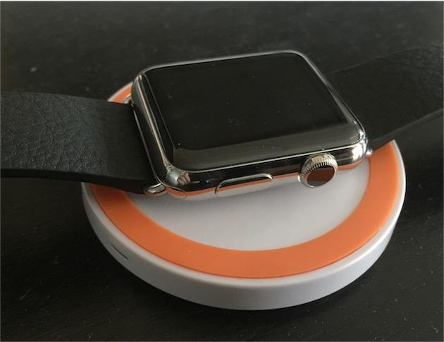 chargeur apple watch orange