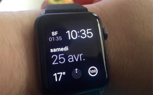 Apple Watch : premier bilan après 48 heures d'utilisation