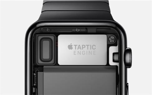 Le lancement ralenti de l'Apple Watch serait lié au Taptic Engine