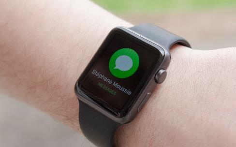 Apple Watch, le test #4: de nouvelles façons de se connecter