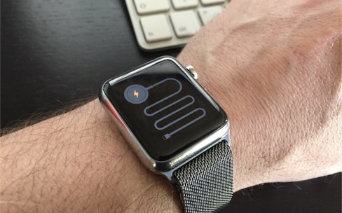 Une Apple Watch : ça se redémarre !