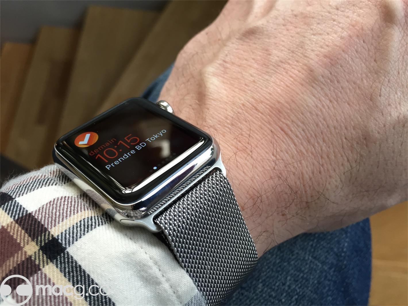 mode designer 38a7f c3aed Déceptions avec le bracelet Milanais de l'Apple Watch ...
