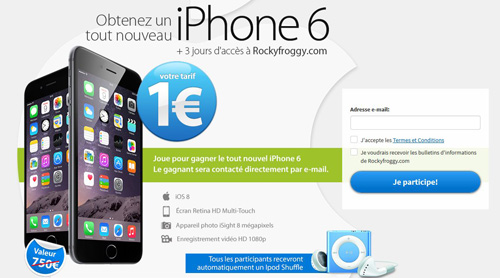 Concour Gagner Iphone