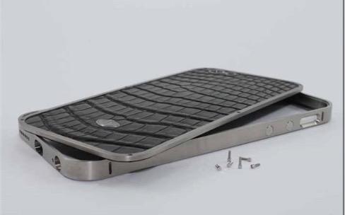 Une coque de luxe en titane made in France pour iPhone 6