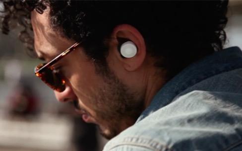 Here, des écouteurs qui augmentent l'audition