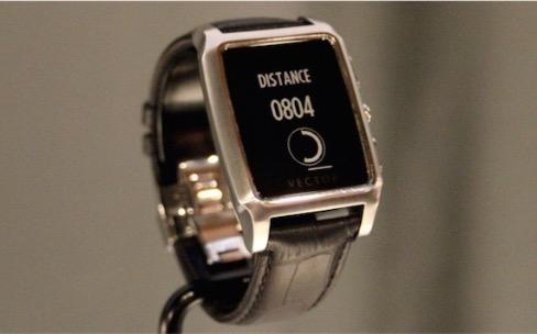 Une date pour les montres Vector avec leur autonomie de 30 jours