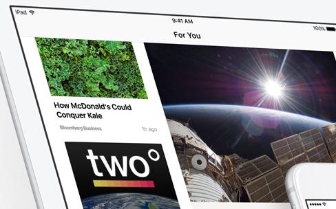 Apple News ne fait pas peur à Flipboard