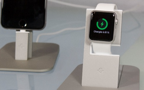 Test du support HiRise pour Apple Watch