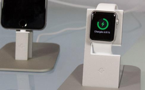 Test du support HiRise pour Apple Watch