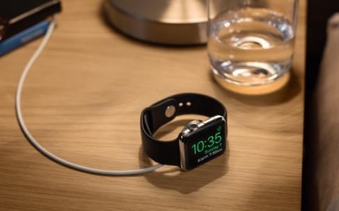 Des docks pour la fonction réveil de l'Apple Watch