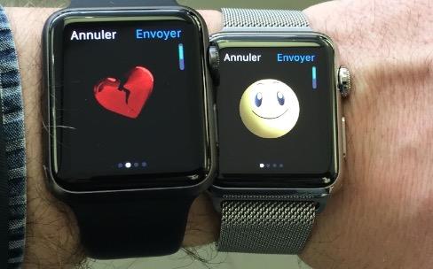 Les Apple Watch sont en vente directe en Apple Store