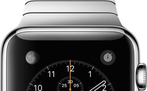 Premier portrait-robot de l'Apple Watch2
