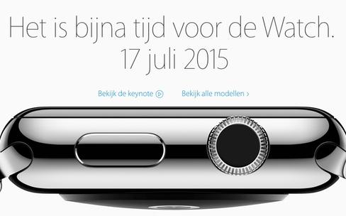 Apple Watch : aux Pays-Bas le 17 juillet mais toujours pas en Belgique