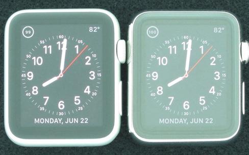 Les Apple Watch Sport sont les plus lisibles au soleil