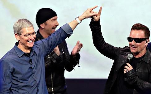 Comme moi, vous suivez certainement U2 sur Apple Music sans le vouloir