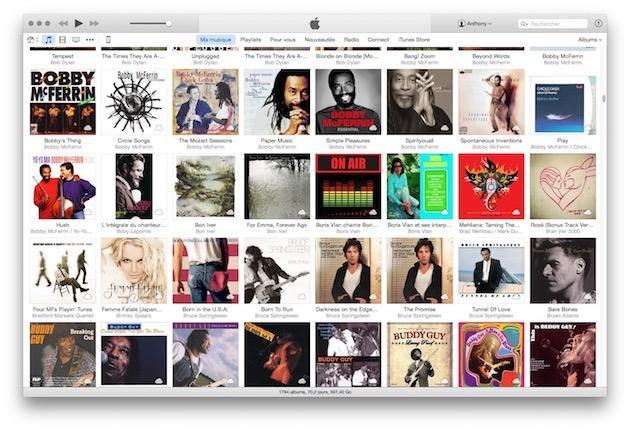 Il manque plus de 100 albums au compteur: la version de ma bibliothèque que possède Apple Music a huit bons mois de retard. Il ne s'agit pas des 25 000 premiers morceaux de ma bibliothèque actuelle, puisque cette bibliothèque ne compte que 23992 morceaux: il ne devrait manquer qu'une douzaine d'albums. Au passage, Apple Music s'est permis de mélanger une nouvelle fois les jaquettes, parce que je n'avais pas perdu assez de temps avec iTunes Match sur ce point.