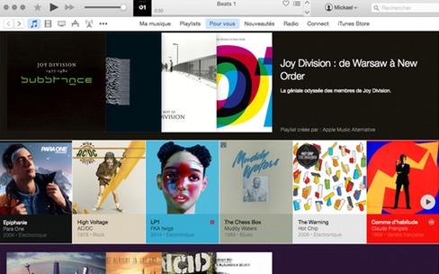 Apple Music sur Mac : une couche supplémentaire dans l'usine à gaz d'iTunes