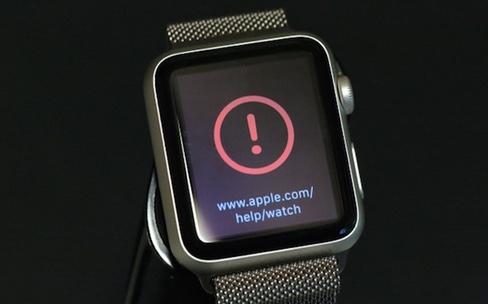 watchOS : pour revenir à une version stable, il faut en passer par Apple