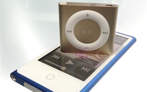 iPod nano, iPod shuffle : ne volez pas l'Apple Music