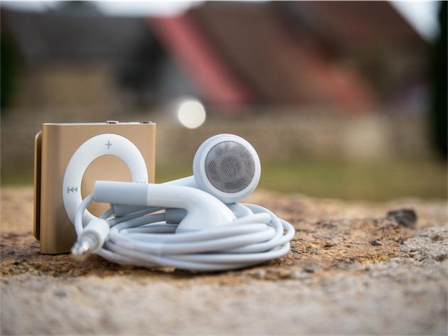 L'iPod shuffle est le seul iPod qui n'est pas fourni avec des EarPods.