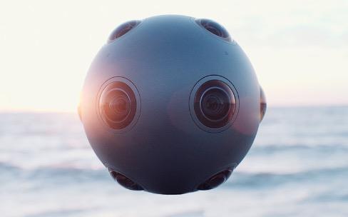 OZO, la boule caméra de Nokia pour filmer à 360°