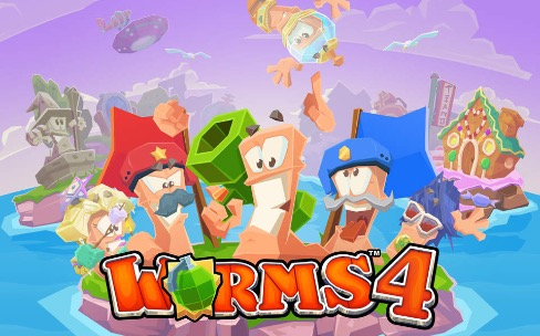Worms 4 infeste l'App Store