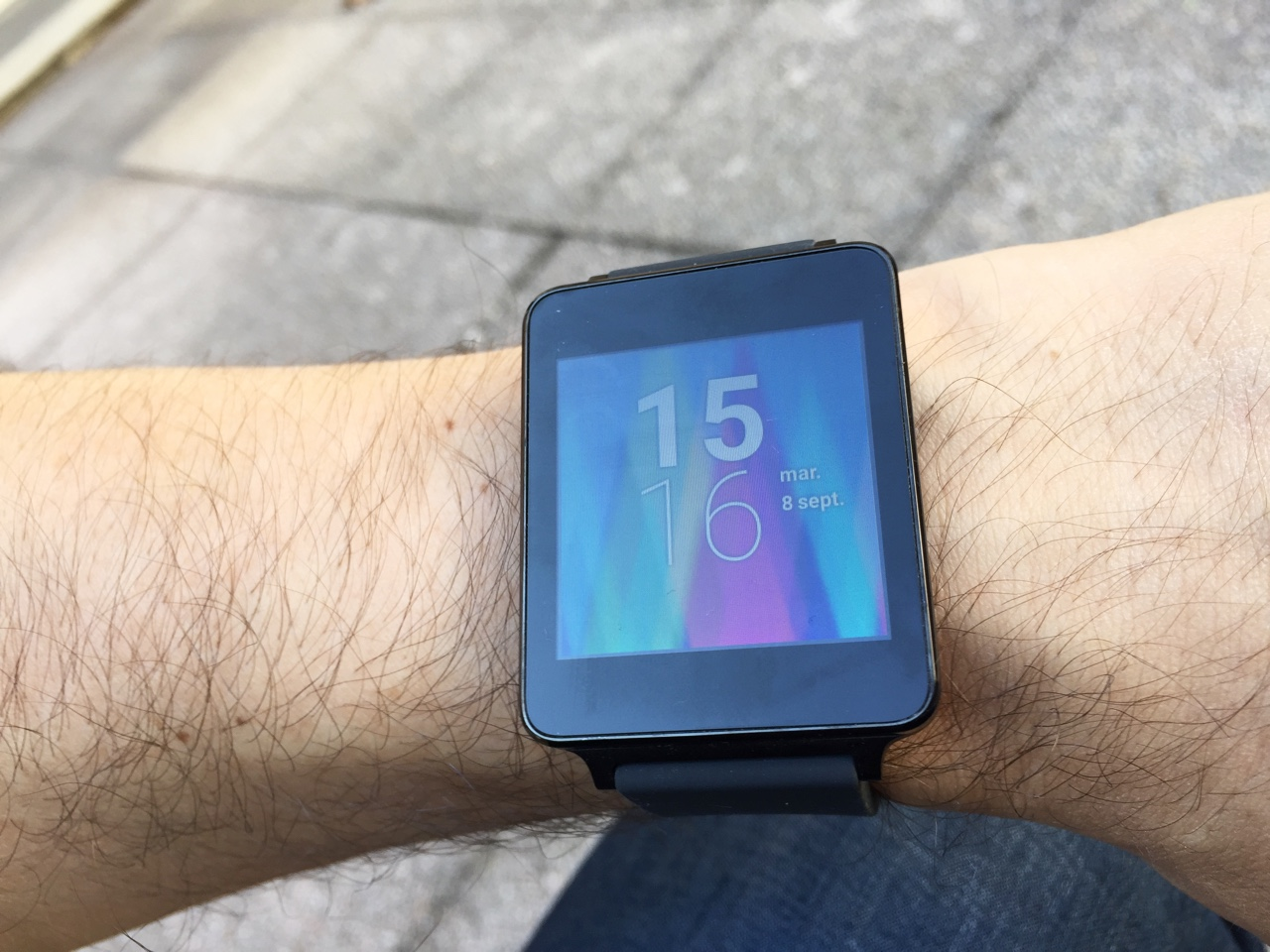 montre android wear compatible ios