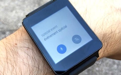 Prise en main d'Android Wear sur iOS
