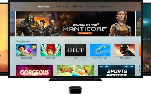 Les jeux de l'Apple TV de quatrième génération [MàJ]
