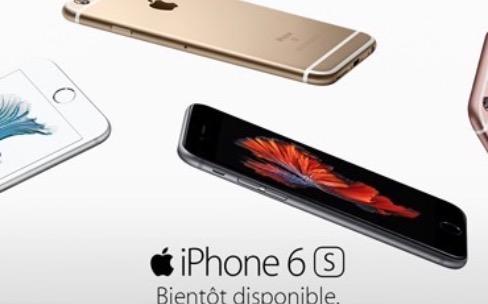 Les iPhones 6s sont aussi chez Orange et Bouygues