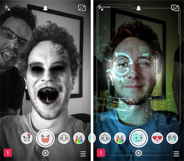 Snapchat, le nouveau Photo Booth iGeneration