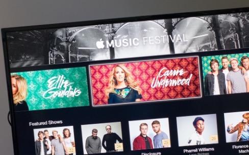 L'Apple Music Festival arrive sur Apple TV