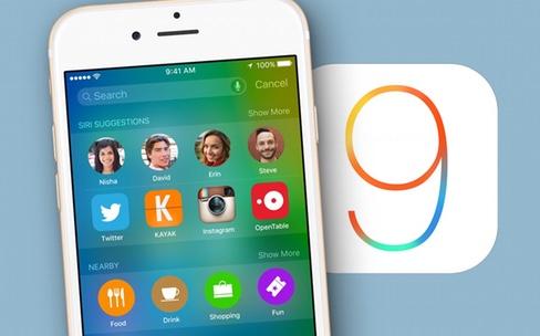 iOS 8.4.1 contre iOS 9 : le plus rapide n'est pas celui qu'on croit
