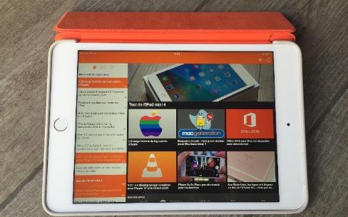 Test de la Smart Cover et de la coque en silicone pour iPad mini 4